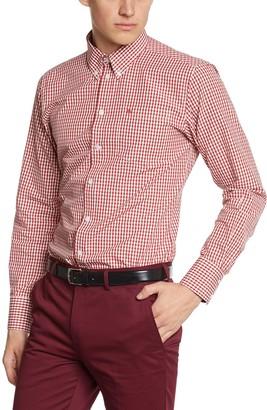 Merc Of London Men's JAPSTER Shirt (1506215309)Button Down Long Sleeve Dress Shirt