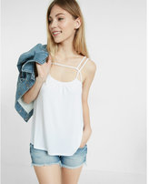 Express one eleven double strap trapeze cami