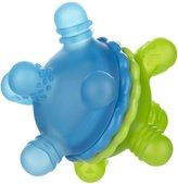 Munchkin Twisty Teether Ball - Green/Blue - 6+ Months