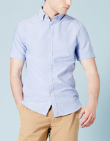 Boden Short Sleeve Oxford Shirt
