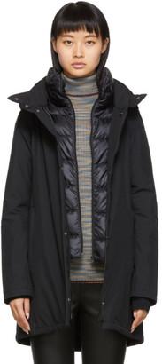 Herno Black Down Waterproof Hilo Jacket