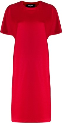 DSQUARED2 wool T-shirt dress