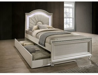 Everly Quinn Setzer Panel Bed with Drawers Size: Full