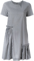 P.A.R.O.S.H. striped dress - women - Cotton/Polyamide/Spandex/Elastane - XS
