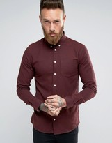 Minimum Fleck Shirt In Regular Fit In Red