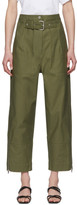 3.1 Phillip Lim Khaki Belted Cargo Pants