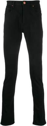 Vivienne Westwood embroidered expletive skinny jeans