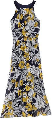 Robbie Bee Chiffon Maxi Dress