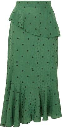 ALEXACHUNG 3/4 length skirts