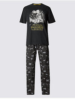 M&S Collection Star WarsTM Pure Cotton Pyjama Set