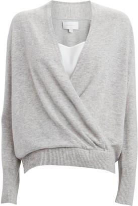 Brochu Walker Looker Layered Wrap Sweater