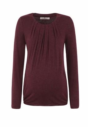 Bellybutton Women's Stillshirt 1/1 Arm Maternity Long Sleeve Top