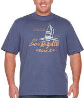 Izod Short Sleeve Crew Neck T-Shirt-Big and Tall