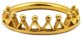 Annabelle Lucilla Jewellery Dainty Stella Crown Ring Gold