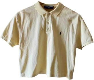 Polo Ralph Lauren Yellow Cotton Top for Women