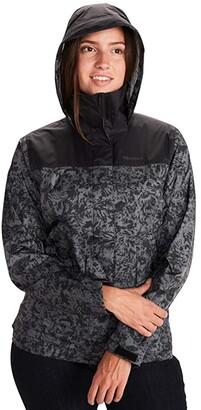 Marmot PreCip(r) Eco Print Jacket (Flowers) Women's Coat