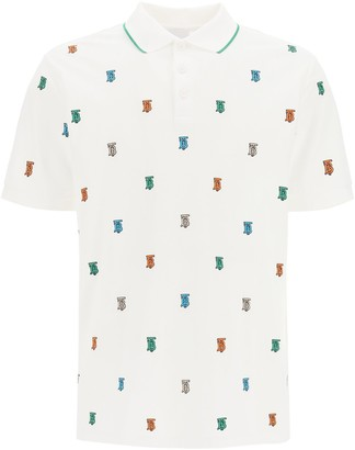 Burberry TB Monogram Polo Shirt