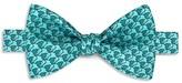 Thomas Pink Elephant Geo Print Bow Tie
