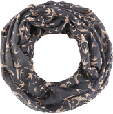 Accessorize Soaring Swallows Snood Scarf
