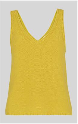 Whistles V Neck Knitted Vest