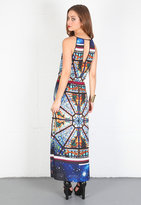 Singer22 Galaxy Glass Maxi Dress in Multi - by Clover Canyon