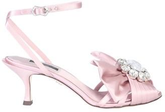 Dolce & Gabbana Bow Embellished Sandals