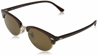 Ray-Ban Unisex's Rb3946 Clubmaster Oval Sunglasses