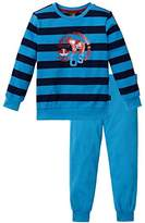 Schiesser Boy's Kn Schlafanzug lang Pyjama Set