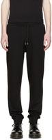 McQ by Alexander McQueen Black Jersey Lounge Pants