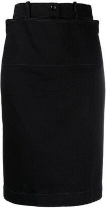 Lemaire Layered Panel Skirt