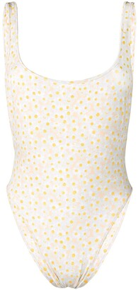 Sian Swimwear Daisy Print Swimsuit