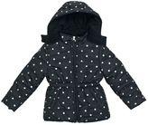 Pink Platinum Baby Girl Star Heavyweight Hooded Puffer Jacket