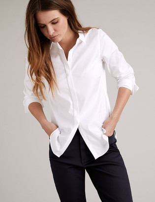 Marks and Spencer Cotton Essential Work Shirt