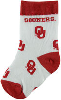 For Bare Feet Toddlers' Oklahoma Sooners All Over Socks