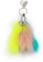 Sophie Hulme 'Willow' feather keyring - women - Brass/Turkey Feather - One Size