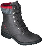 Women's Mad Love® Kabreyia Sock Top Ankle Boot - Grey
