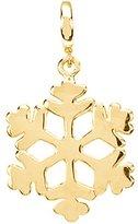 Katarina 14K Yellow Gold Snowflake Charm