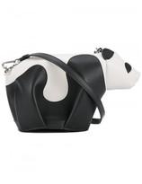 Loewe mini leather panda crossbody bag