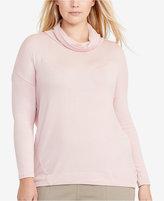 Lauren Ralph Lauren Plus Size Cowl-Neck Jersey Sweater