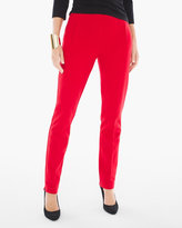 Chico's Juliet Ankle Pants in Barbados Cherry