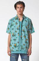 Vans Parrots Short Sleeve Button Up Shirt