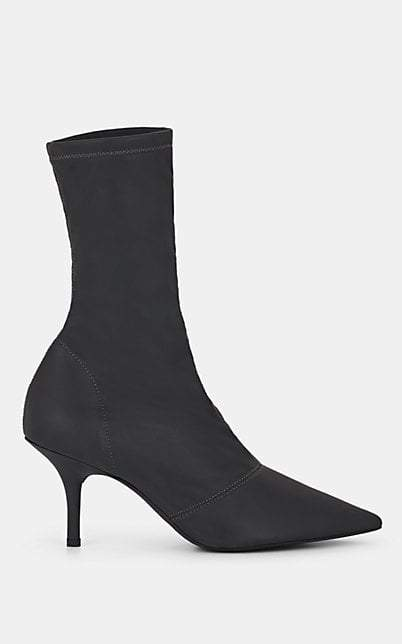 Yeezy Women's Stretch-Fabric Ankle Boots - Dark Gray