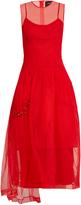 Simone Rocha Bead-embellished tulle dress