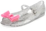 Billieblush Open Toe Glitter Sandal