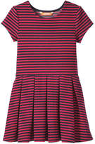 Joe Fresh Toddler Girls' Stripe Dress, Carmine Red (Size 2)