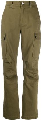 Alexander Wang Straight-Leg Cargo Trousers