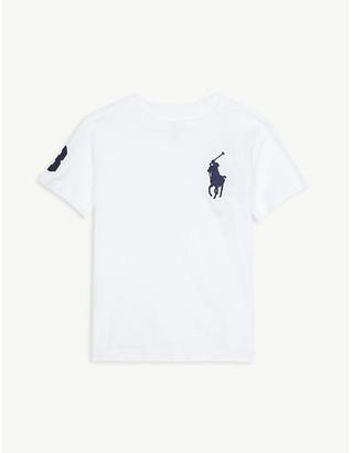 Ralph Lauren Pony logo cotton T-shirt 2-14 years