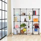 Rebrilliant Fitzpatrick 6 Cube Corner Unit Bookcase Rebrilliant