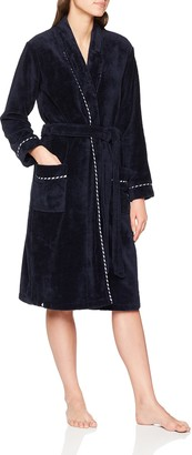Schiesser Women's Bademantel 110cm Bathrobe