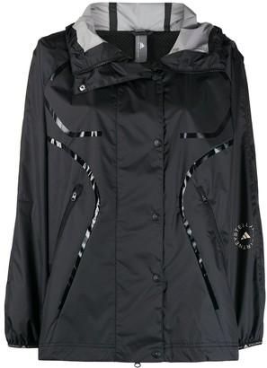 adidas by Stella McCartney Hooded Waterproof Coat